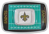 NFL New Orleans Saints Chip & Dip Tray