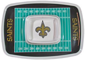 NFL New Orleans Saints Chip & Dip Tray