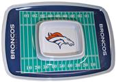 NFL Denver Broncos Chip & Dip Tray