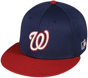 OC Sports MLB Washington Nationals Mesh Road Cap