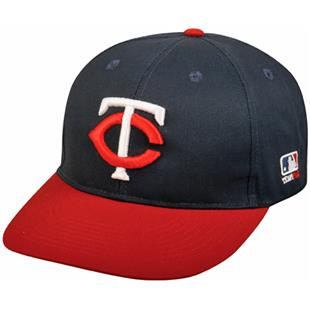 OC Sports MLB Minnesota Twins Road Replica Cap
