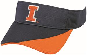 OC Sports Illinois Fighting Illini Replica Visor