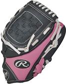 "Rawlings Players Series 9"" T-Ball Glove w/PU Ball"