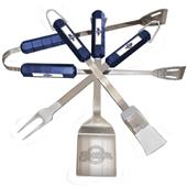BSI MLB Milwaukee Brewers 4 Piece BBQ Grilling Set