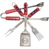 BSI MLB Minnesota Twins 4 Piece BBQ Grilling Set