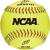 "Worth 11"" NCAA Outdoor Training Softballs"