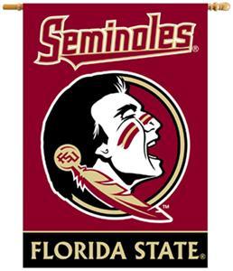 "BSI Florida State Seminoles 2-Sided 28""x40"" Banner"