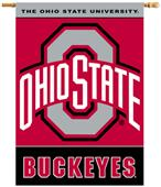 "BSI Ohio State Buckeyes 2-Sided 28""x40"" Banner"