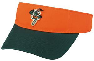 OC Sports MiLB Greensboro Grasshoppers Visor