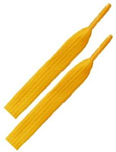 Red Lion Childhood Cancer Gold Shoelaces