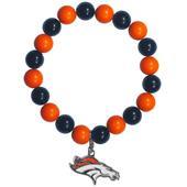 Silver Moon NFL Denver Broncos Bead Bracelet
