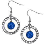 Silver Moon NFL Dallas Cowboys CZ Earrings