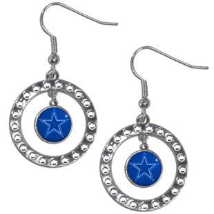 Silver Moon NFL Dallas Cowboys CZ Earrings