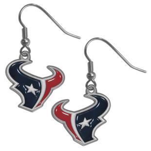 Silver Moon Houston Texans Short Dangle Earrings