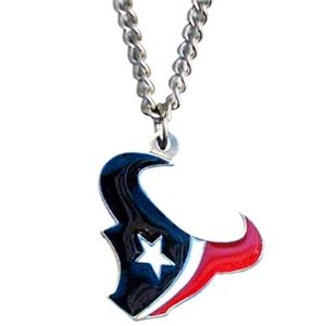 Silver Moon NFL Houston Texans Charm Necklace