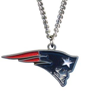 Silver Moon New England Patriots Charm Necklace