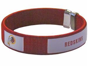 Silver Moon NFL Redskins Woven Cuff Bracelet