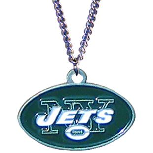 Silver Moon NFL New York Jets Charm Necklace