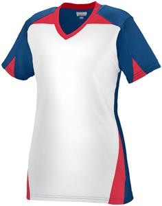 Augusta Women Girls Matrix Softball Jersey