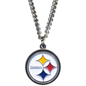 Silver Moon NFL Pittsburgh Steelers Charm Necklace