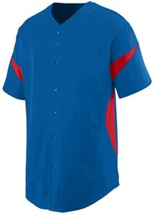 Augusta Wheel House Button Up Baseball Jersey