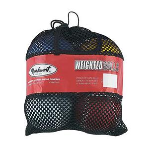 "Markwort 12"" Color Coded Weighted Softballs-Set"