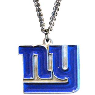Silver Moon NFL New York Giants Charm Necklace