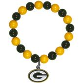 Silver Moon NFL Green Bay Packers Bead Bracelet