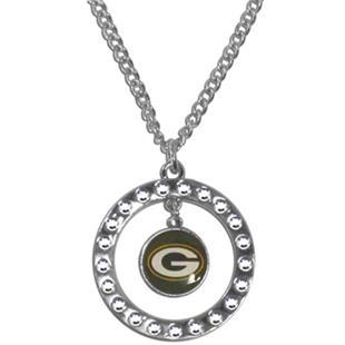 Silver Moon NFL Green Bay Packers CZ Necklace