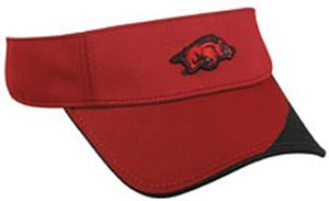 OC Sports College Arkansas Razorbacks Visor