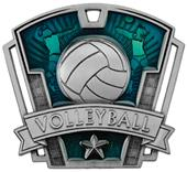 "Hasty Awards 3"" Varsity Volleyball Medals M-787V"