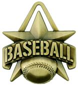 "Hasty Awards 2"" All-Star Baseball Medals M-790C"