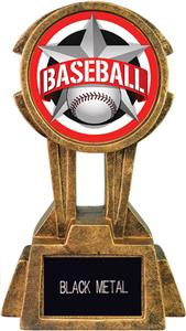 "Hasty Awards 10"" Sky Tower Resin Baseball Trophy"