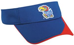 College Replica Kansas Jayhawks Visor