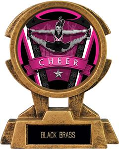 "Hasty Awards 7"" Sky Tower Resin Cheer Trophy"