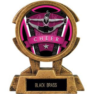 """Hasty Awards 7"""" Sky Tower Resin Cheer Trophy"""