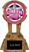 "Hasty Awards 10"" Sky Tower Resin Cheer Trophy"