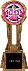 """Hasty Awards 14"""" Sky Tower Resin Cheer Trophy"""