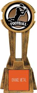 "Hasty Awards 14"" Sky Tower Resin Football Trophy"