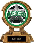 "Hasty Awards 7"" Sky Tower Resin Lacrosse Trophy"