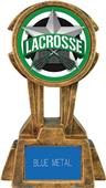 "Hasty Awards 10"" Sky Tower Resin Lacrosse Trophy"