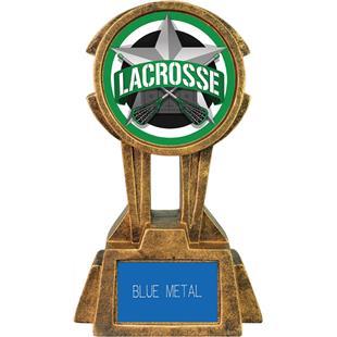 "Hasty Awards 10"" Sky Tower Resin Lacrosse Trophy"