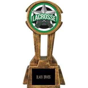 "Hasty Awards 12"" Sky Tower Resin Lacrosse Trophy"
