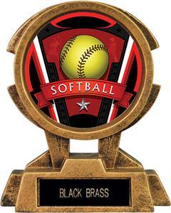 "Hasty Awards 7"" Sky Tower Resin Softball Trophy"
