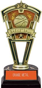 Hasty Award Basketball Varsity Trophy Marble Base
