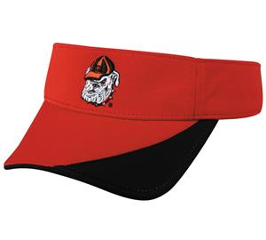 OC Sports College Georgia Bulldogs Visor