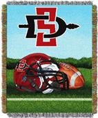 "Northwest NCAA San Diego State HFA 48""x60"" Throw"