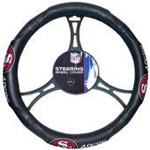 NFL San Francisco 49ers Steering Wheel Cover