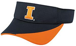 College Replica Illinios Fighting Illini Visor