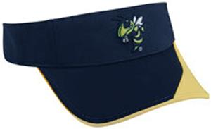 College Replica Georgia Tech Yellowjackets Visor